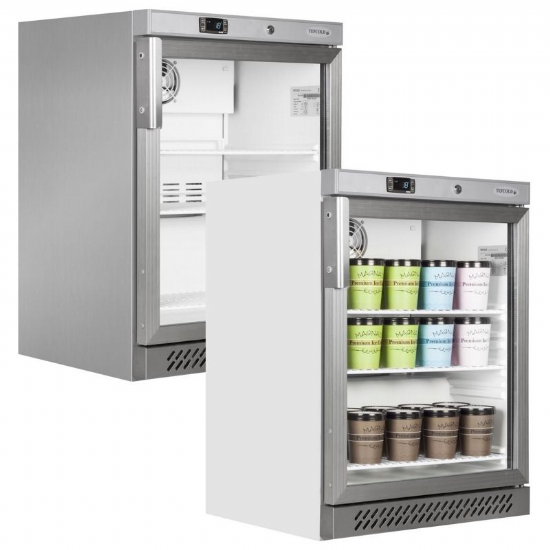 Low Height Display Freezers